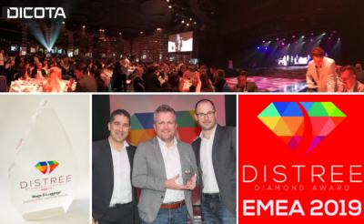 Nachhaltigkeit zahlt sich aus - Wir gewinnen DISTREE Diamond Award 2019