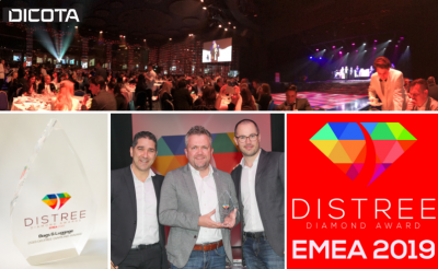Sustainability pays off: We win DISTREE Diamond Award 2019
