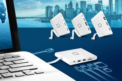 Vielfältige Anschlussmöglichkeiten über einen einzigen USB-C-Port