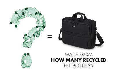 How many PET Bottles are recycled in one bag?