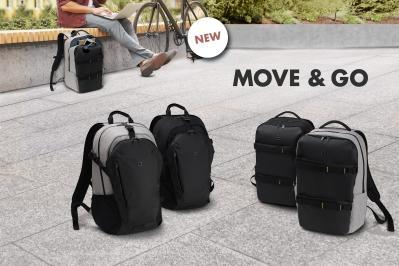 Backpack GO et MOVE - sportifs, fonctionnels et élégants