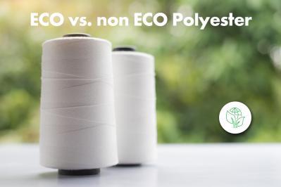 La différence entre le polyester conventionnel et le polyester rPET