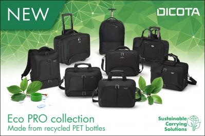 Now made from recycled PET bottles – the Eco PRO collection